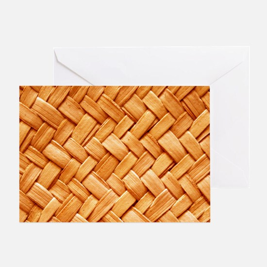 WOVEN STRAW Greeting Card