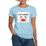 I'M CRABBY Women's Light T-Shirt