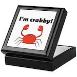 I'M CRABBY Keepsake Box