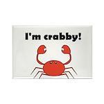 I'M CRABBY Rectangle Magnet (10 pack)