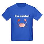 I'M CRABBY Kids Dark T-Shirt