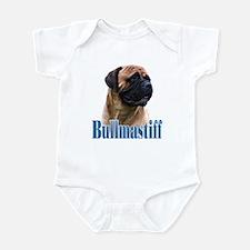 Bullmastiff(red)Name Infant Bodysuit