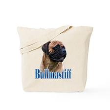 Bullmastiff(red)Name Tote Bag