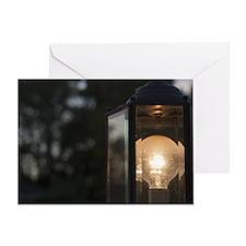 Unique Lightbulb Greeting Card