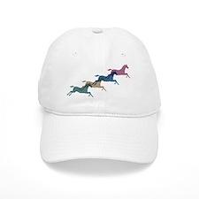 4 Horses Baseball Cap