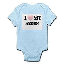 I Love my Ayden (Heart Made from Love my Body Suit