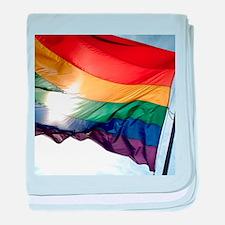 PRIDE FLAG baby blanket