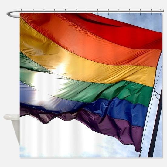 PRIDE FLAG Shower Curtain