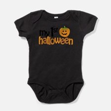 Cute Happy pumpkin Baby Bodysuit