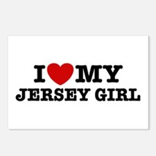 I Love My Jersey Girl Postcards (Package of 8)