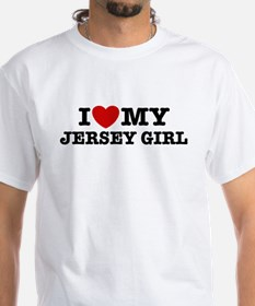 I Love My Jersey Girl Shirt