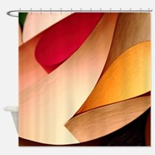 PRETTY ABSTRACT ART Shower Curtain