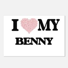 I Love my Benny (Heart Ma Postcards (Package of 8)