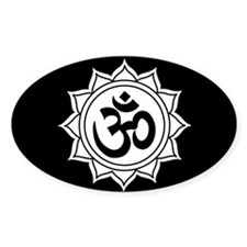om3 Oval Decal