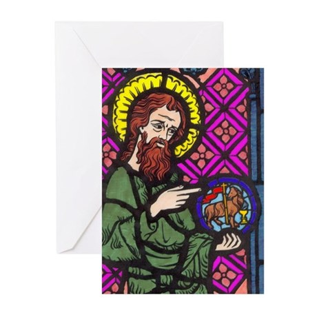 John the Baptist Greeting Cards (Pk of 10)