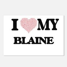 I Love my Blaine (Heart M Postcards (Package of 8)
