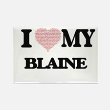 I Love my Blaine (Heart Made from Love my Magnets
