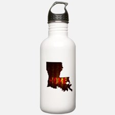 LOUISIANA HOME vintage Sports Water Bottle