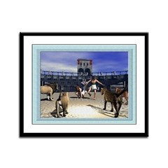 The Coliseum - 12x9 Framed Print