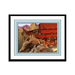 Out from the Ark - 12x9 Framed Print