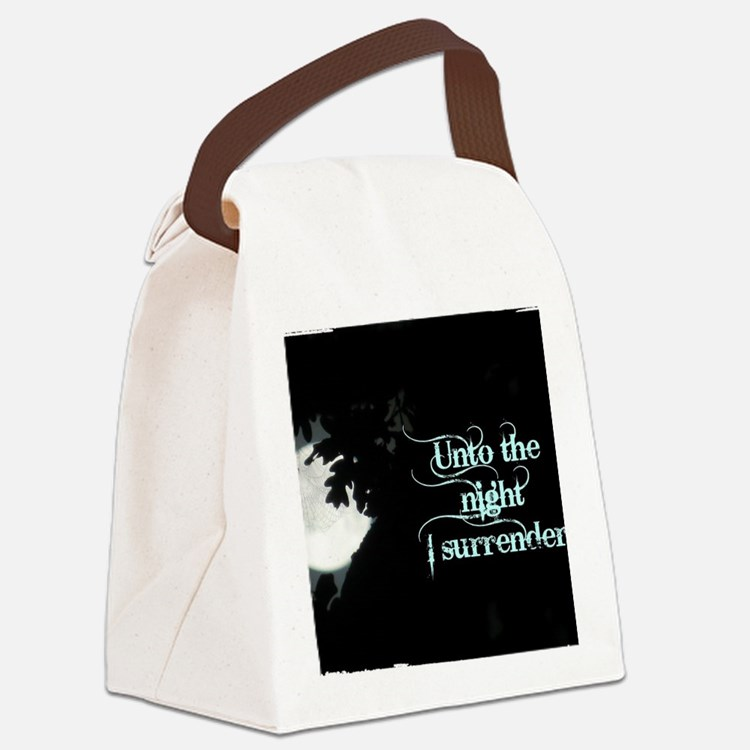 Cute Vampires Canvas Lunch Bag