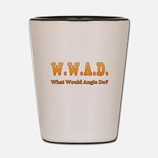 W.W.A.D. Shot Glass