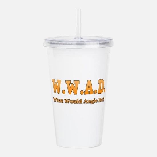 W.W.A.D. Acrylic Double-wall Tumbler