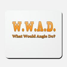 W.W.A.D. Mousepad