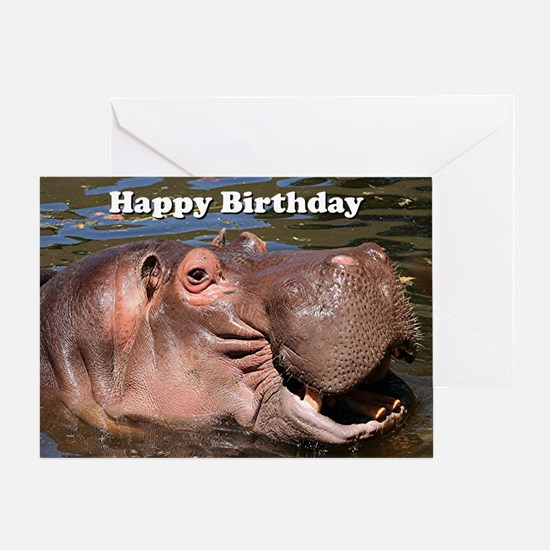 Cool Animals wildlife Greeting Card
