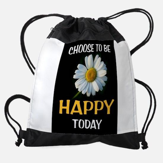 BE HAPPY Drawstring Bag