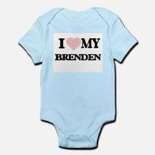 I Love my Brenden (Heart Made from Love Body Suit