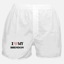 I Love my Brendon (Heart Made from Lo Boxer Shorts