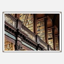 Classic Literary Library Books Banner