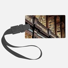 Classic Literary Library Books Luggage Tag