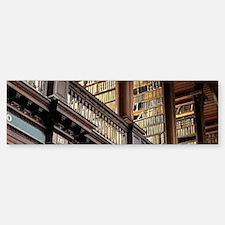 Classic Literary Library Books Bumper Bumper Bumper Sticker