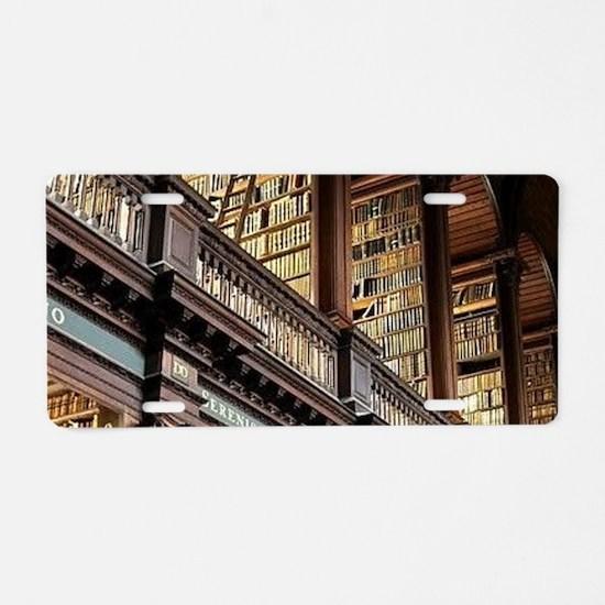 Classic Literary Library Bo Aluminum License Plate