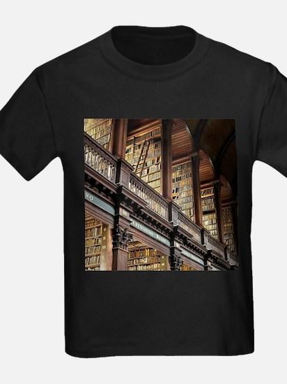 Classic Literary Library Books T-Shirt