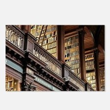 Classic Literary Library Postcards (Package of 8)