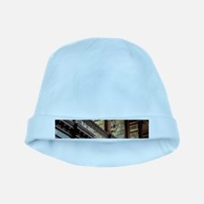 Classic Literary Library Books baby hat