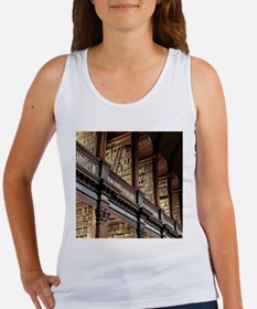 Classic Literary Library Books Tank Top
