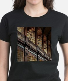 Classic Literary Library Books T-Shirt