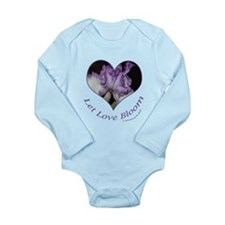 Cute Bloom Long Sleeve Infant Bodysuit