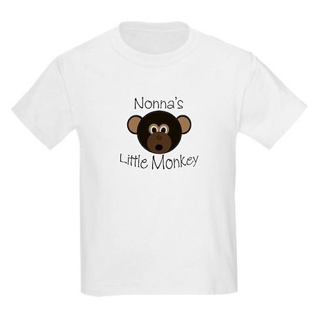Nonna's BOY Little Monkey Kids Light T-Shirt
