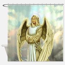 Cute Religious christmas Shower Curtain