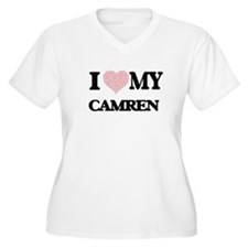 I Love my Camren (Heart Made fro Plus Size T-Shirt