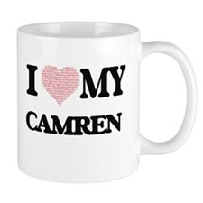 I Love my Camren (Heart Made from Love my wor Mugs