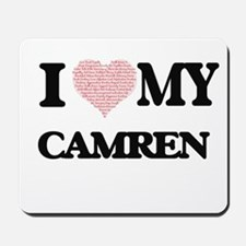 I Love my Camren (Heart Made from Love m Mousepad