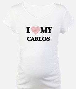 I Love my Carlos (Heart Made fro Shirt