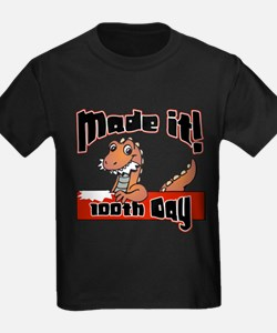 Funny 100th day of school kids T