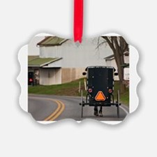 Cute Amish country Ornament